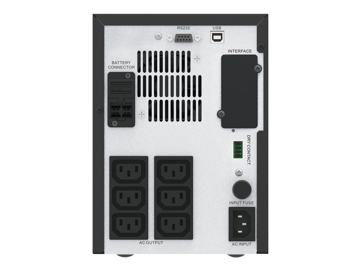 APC Easy-UPS SMV SMV1000CAI - USV - Wechselstrom 220/230/240 V - 700 Watt - 1000 VA - 2 x 7 Ah 7 Ah