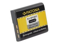 PATONA - Batterie - Li-Ion - 960 mAh - für Sony Cyber-shot DSC-H20, HX10, HX20, HX30, W210, W215, W220, W230, W270, W275, W290,