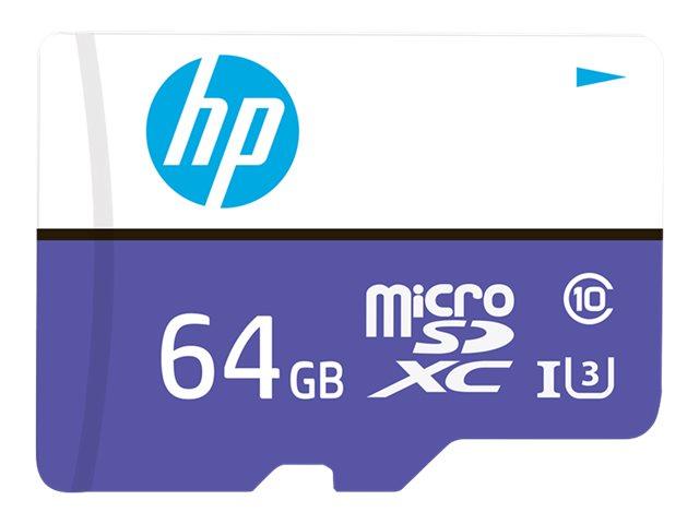 HP mx330 - Flash-Speicherkarte - 64 GB - UHS-I U3 / Class10 - microSDXC UHS-I