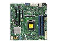 SUPERMICRO X11SSL-F - Motherboard - micro ATX - LGA1151 Socket - C232 - USB 3.0