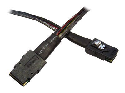 LSI - Internes SAS-Kabel - mit Sidebands - SAS 6Gbit/s - gerade durchgeführt - 36 PIN 4iMini MultiLane (M) bis 36 PIN 4iMini Mul