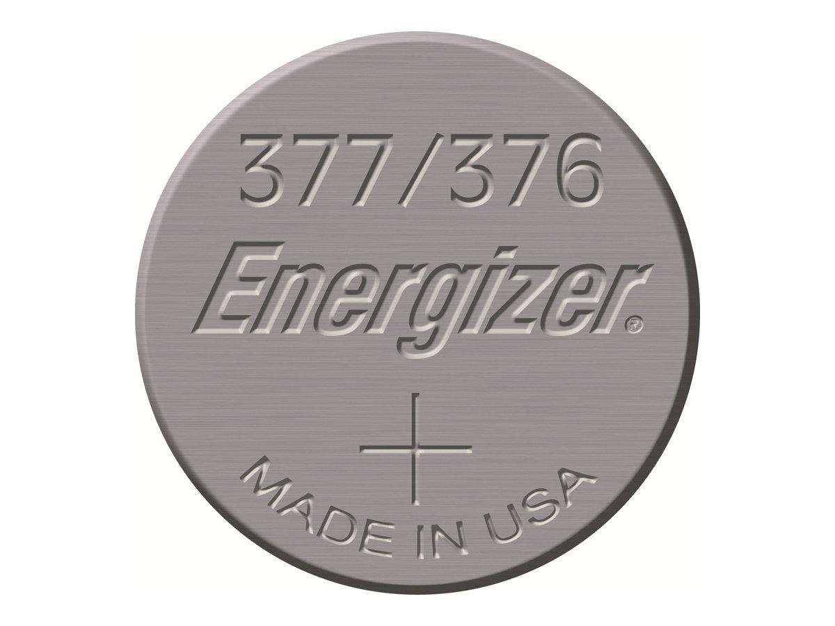 Energizer 377/376 - Batterie - Silberoxid