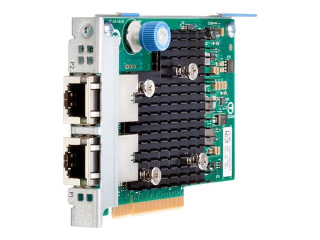 HPE 562FLR-T - Netzwerkadapter - PCIe 3.0 x4 - 10Gb Ethernet x 2 - für ProLiant DL20 Gen10, DL360 Gen10, DL380 Gen10, DL580 Gen1
