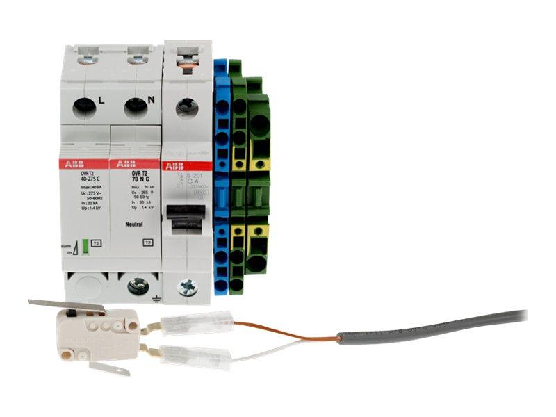 AXIS Electrical Safety kit B 230 V AC - Elektrosicherheits-Kit (120 V) - Wechselstrom 230 V - für AXIS T98A15-VE, T98A16-VE, T98