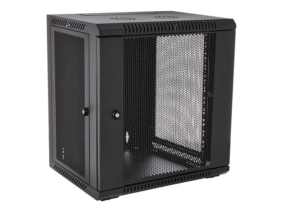 V7 RMWC12UV450-1E - Schrank - Netzwerkschrank - geeignet für Wandmontage - 12U
