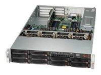 Supermicro SC829 BTQ-R920WB - Rack - einbaufähig - 2U - SAS - Hot-Swap 920 Watt