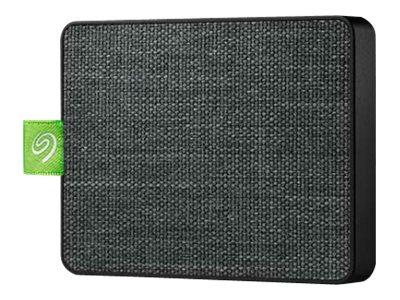Seagate Ultra Touch STJW500401 - Festplatte - 500 GB - extern (tragbar) - USB 3.0 - Schwarz