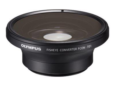 Olympus FCON T01 - Konverter - für Stylus Tough TG-2, TG-2 iHS, TG-3, TG-4; Tough TG-1, TG-1 iHS, TG-3, TG-4, TG-5, TG-6