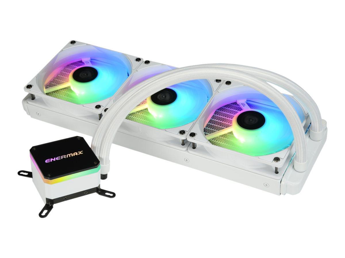 Enermax Liqmax III ELC-LMT360-W-ARGB - Prozessor-Flüssigkeitskühlsystem - (für: LGA1156, AM2, AM2+, LGA1366, AM3, LGA1155, AM3+,