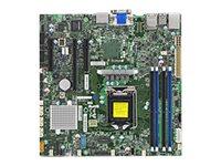 SUPERMICRO X11SSZ-F - Motherboard - micro ATX - LGA1151 Socket - C236 - USB 3.0