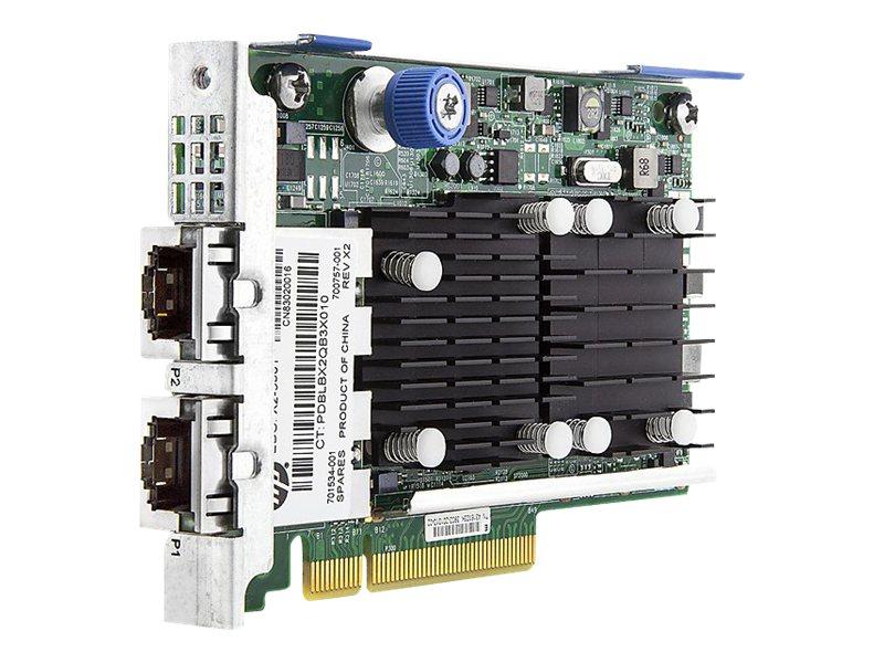 HPE FlexFabric 533FLR-T - Netzwerkadapter - PCIe 2.0 x8 - 10Gb Ethernet x 2 - für ProLiant DL20 Gen10, DL20 Gen9, DL360 Gen10, D