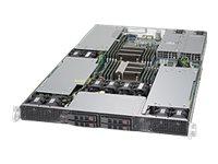 Supermicro SuperServer 1028GR-TRT - Server - Rack-Montage - 1U - zweiweg - keine CPU