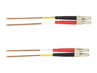 Black Box - Patch-Kabel - LC Multi-Mode (M) bis LC Multi-Mode (M) - 30 m - Glasfaser - braun