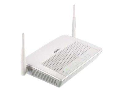 Zyxel Prestige 660HN-I - Wireless Router - DSL-Modem - 4-Port-Switch - 802.11b/g/n (draft 2.0) - 2,4 GHz