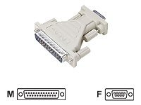 Lindy - Serieller Adapter - DB-25 (M) bis DB-9 (W)
