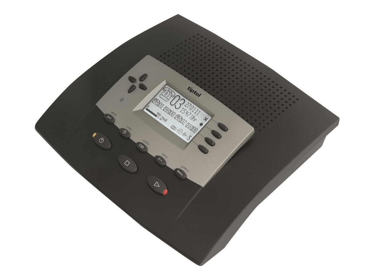 Tiptel 540 SD - Anruferkennung mit Anrufbeantworter - digital