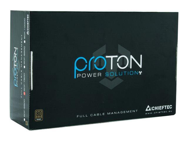 Chieftec Proton Series BDF-750C - Stromversorgung (intern) - ATX12V 2.3 - 80 PLUS Bronze - Wechselstrom 115-230 V - 750 Watt