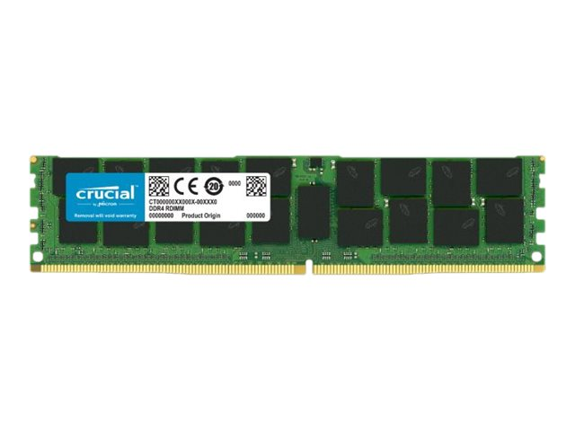 Crucial - DDR4 - 32 GB - DIMM 288-PIN - 3200 MHz / PC4-25600 - CL22