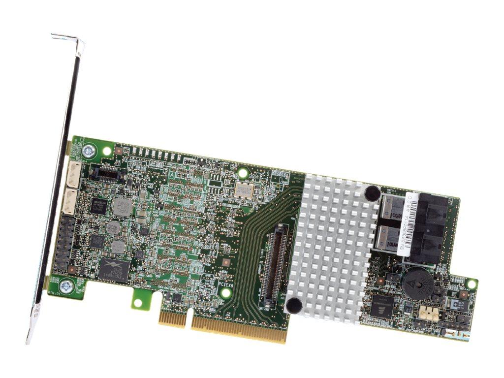 Intel RAID Controller RS3DC040 - Speichercontroller (RAID) - 4 Sender/Kanal - SATA 6Gb/s / SAS 12Gb/s Low-Profile - 12 Gbit/s -