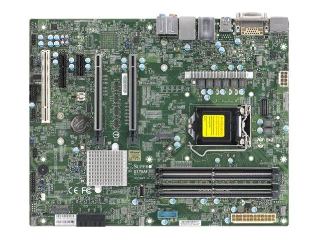 SUPERMICRO X12SAE - Motherboard - ATX - LGA1200-Sockel - W480 - USB-C Gen2, USB 3.2 Gen 1, USB 3.2 Gen 2