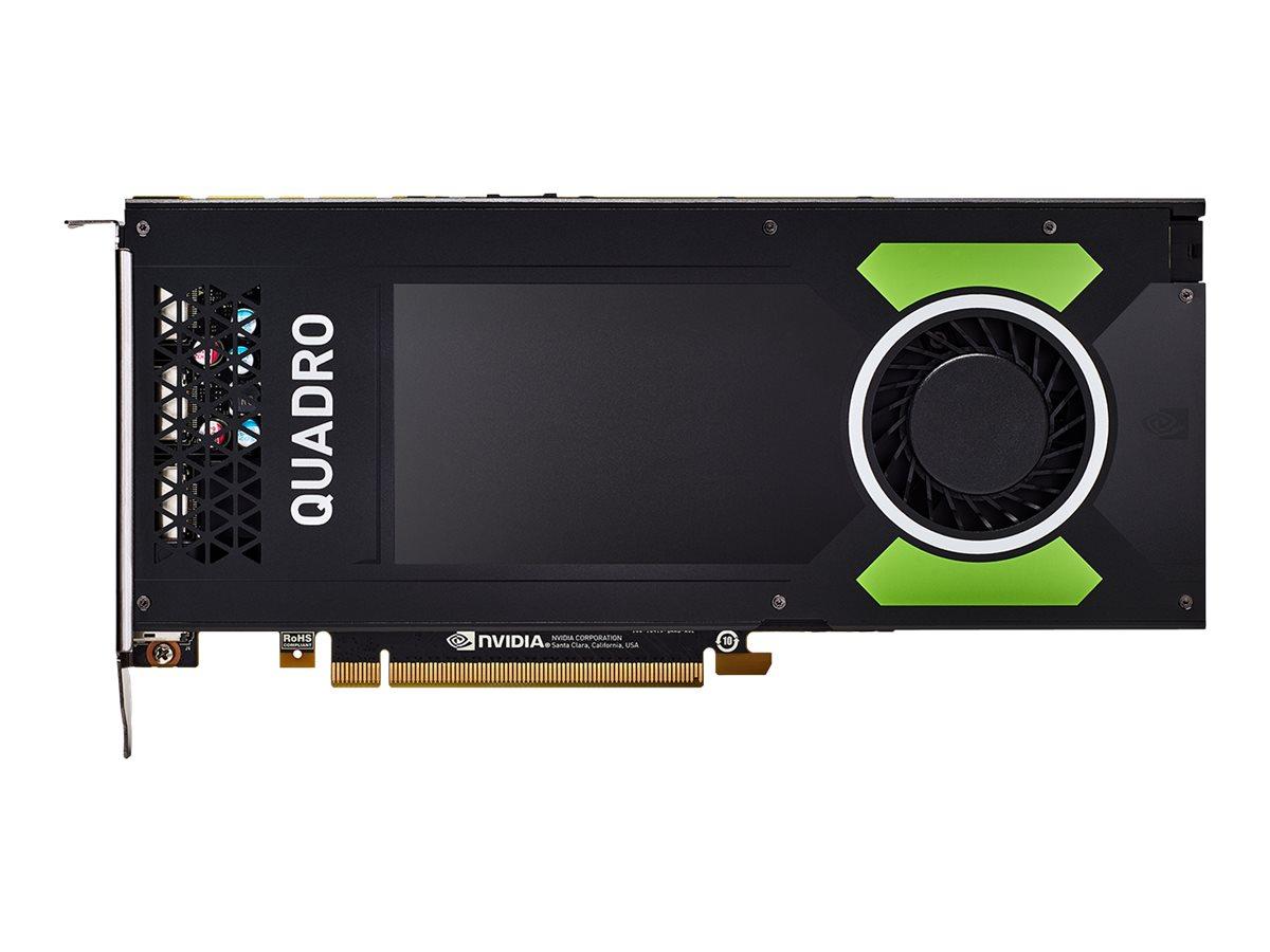 NVIDIA Quadro P4000 - Grafikkarten - Quadro P4000 - 8 GB GDDR5 - PCIe 3.0 x16 - 4 x DisplayPort