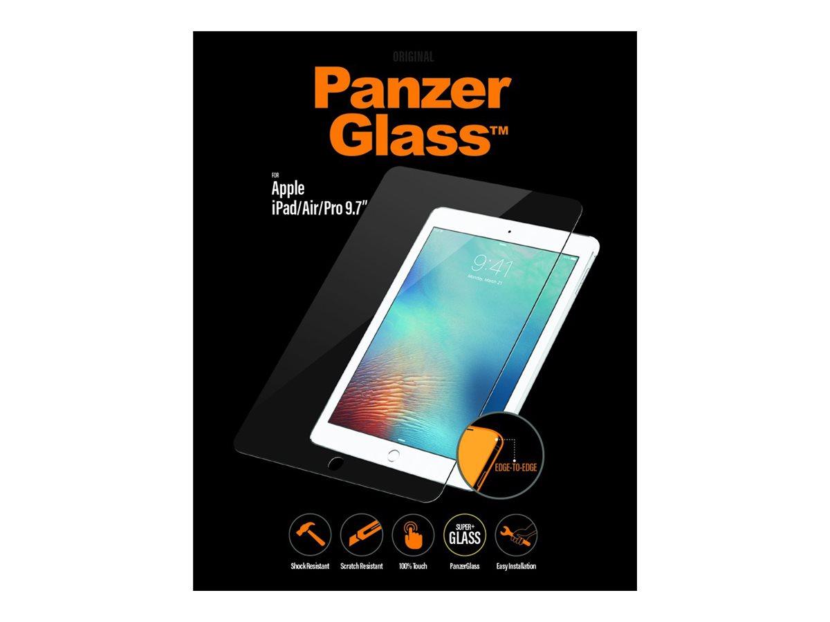 PanzerGlass - Bildschirmschutz für Tablet - Glas - kristallklar - für Apple 9.7-inch iPad; 9.7-inch iPad Pro; iPad Air; iPad Air