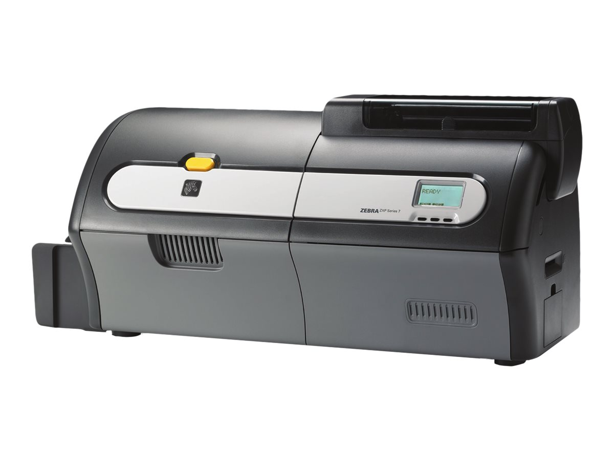 Zebra ZXP Series 7 - Plastikkartendrucker - Farbe - Duplex - Thermosublimation/thermische Übertragung - CR-80 Card (85.6 x 54 mm