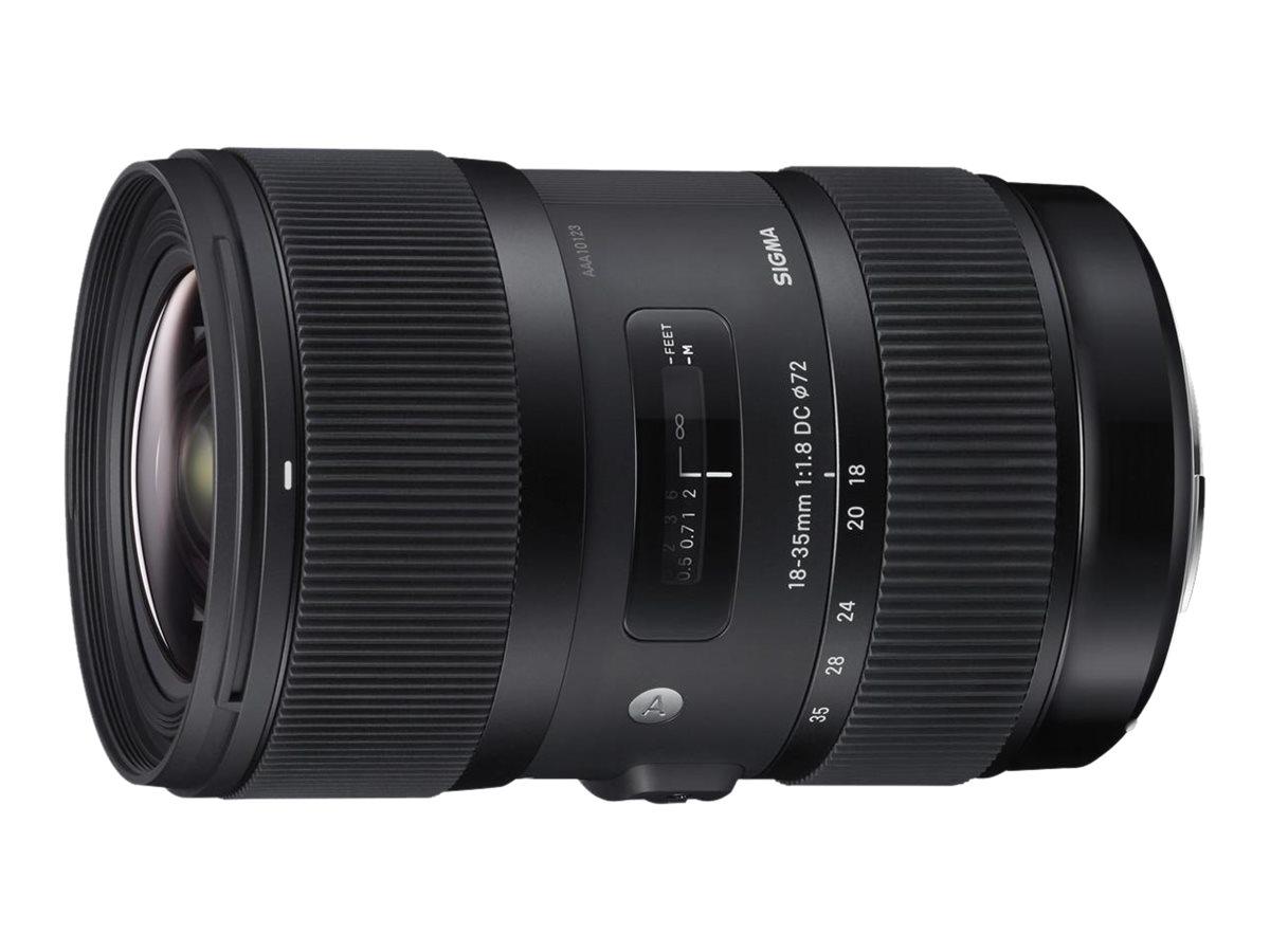 Sigma Art - Weitwinkel-Zoom-Objektiv - 18 mm - 35 mm - f/1.8 DC HSM - Nikon F