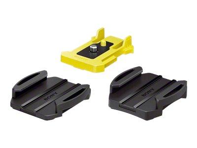 Sony VCT-AM1 - Stützsystem - Klebemontage - für Action Cam-FDR-X1000, X3000, HDR-AS20, AS200, AS30, AS300, AS50; Action Cam Mini