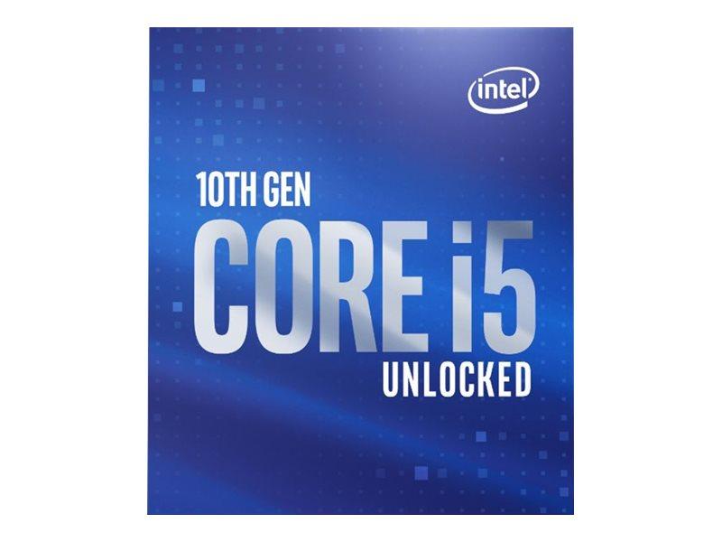 Intel Core i5 10600K - 4.1 GHz - 6 Kerne - 12 Threads - 12 MB Cache-Speicher - LGA1200 Socket