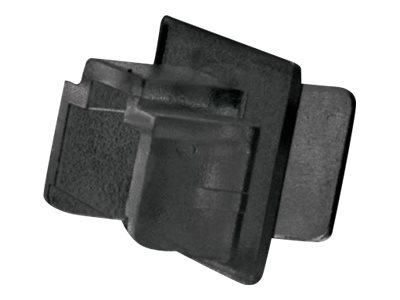LINDY - Schutzumschlag - Schwarz (Packung mit 10)