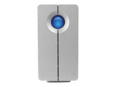 LaCie 2big Quadra - Festplatten-Array - 8 TB - 2 Schächte - HDD 4 TB x 2 - FireWire 800, USB 3.0 (extern)