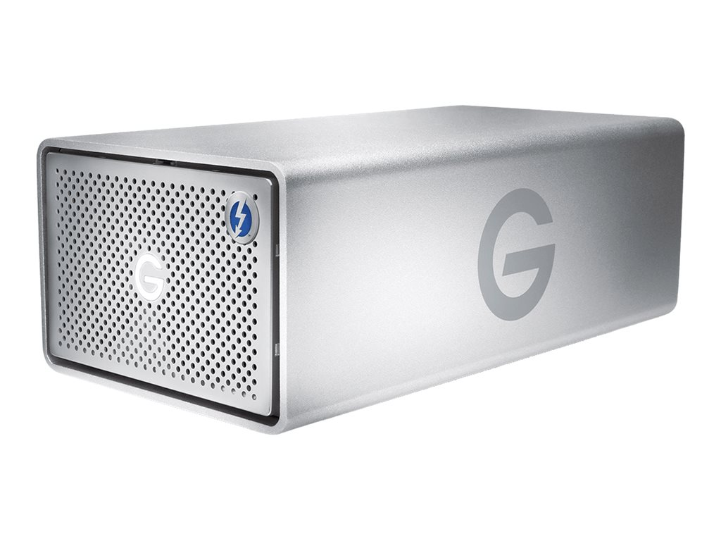 G-Technology G-RAID with Thunderbolt 3 - Festplatten-Array - 36 TB - 2 Schächte - HDD 18 TB x 2 - Thunderbolt 3, USB 3.1 Gen 2 (