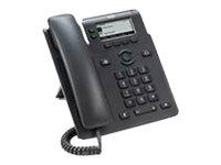 Cisco IP Phone 6821 - VoIP-Telefon mit Rufnummernanzeige/Anklopffunktion - SIP, SRTP - 2 Leitungen