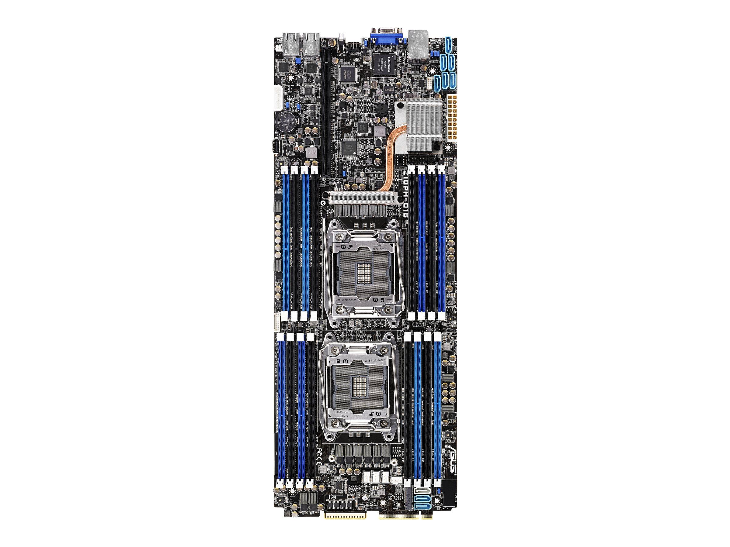 ASUS Z10PH-D16 - Motherboard - Half SSI - LGA2011-v3-Sockel - 2 Unterstützte CPUs - C612