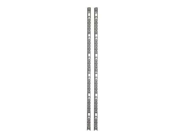APC NetShelter SX - Kabelführungsplatte für Schaltschrank - Schwarz - 42HE - für P/N: SMX1500RM2UCNC, SRT1000RMXLI, SRT1000RMXLI