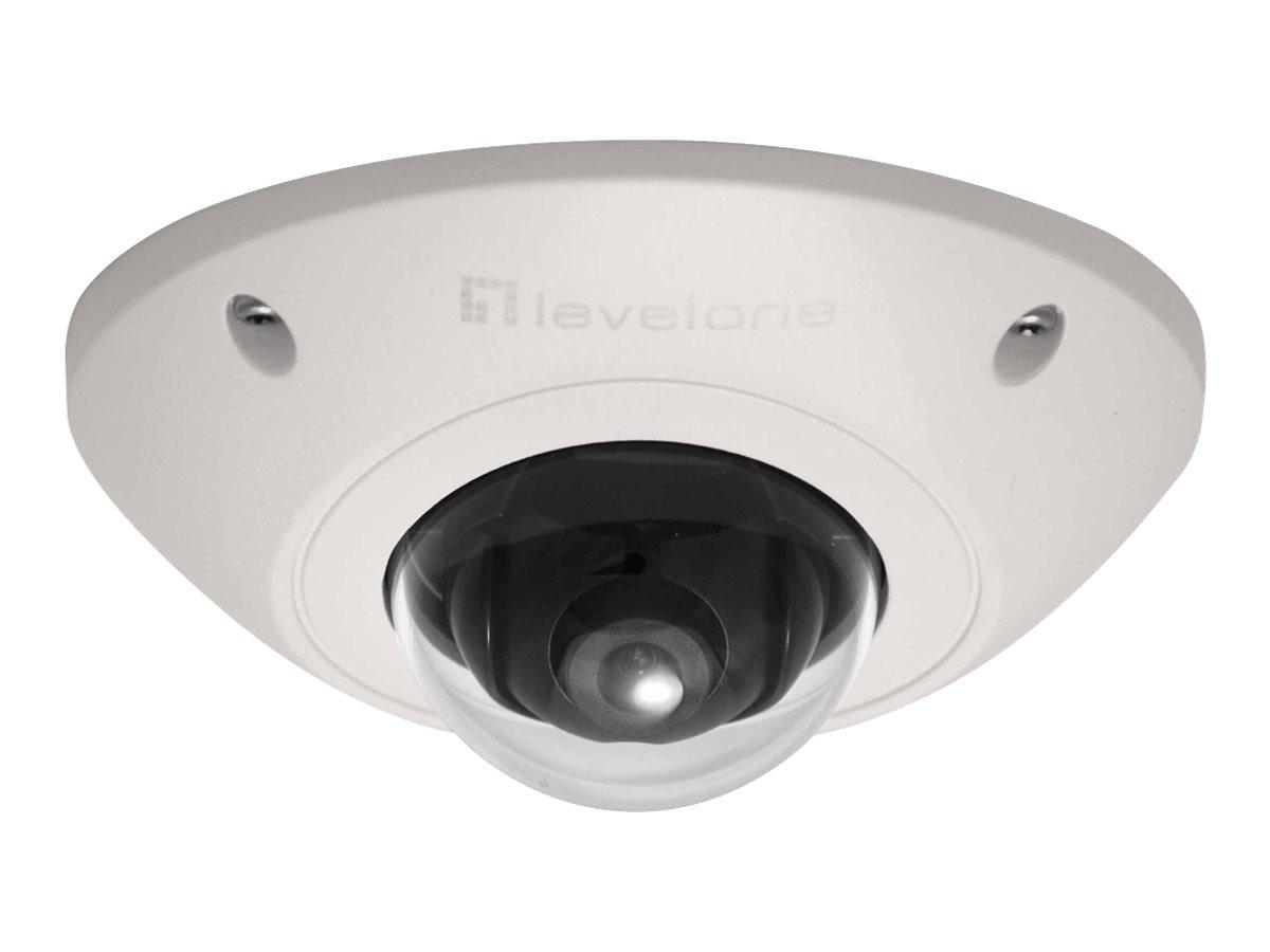 LevelOne FCS-3073 - Netzwerk-Überwachungskamera - Kuppel - Aussenbereich - Vandalismussicher / Wetterbeständig - Farbe (Tag&Nach