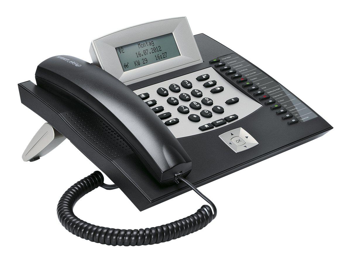 Auerswald COMfortel 1600 - ISDN-Telefon - Schwarz - für COMpact 3000 analog, 3000 ISDN, 3000 VoIP, 5010 VOIP, 5020 VOIP
