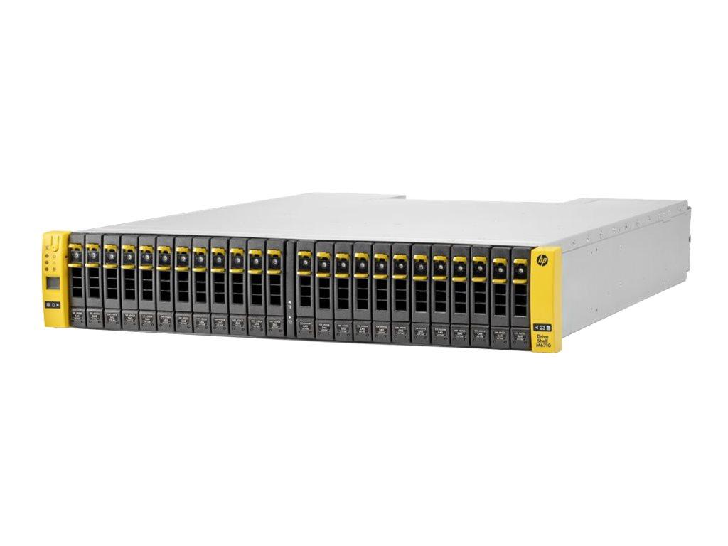 HPE M6710 SAS Drive Enclosure - Speichergehäuse - 24 Schächte (SAS-2) - Rack - einbaufähig - 2U