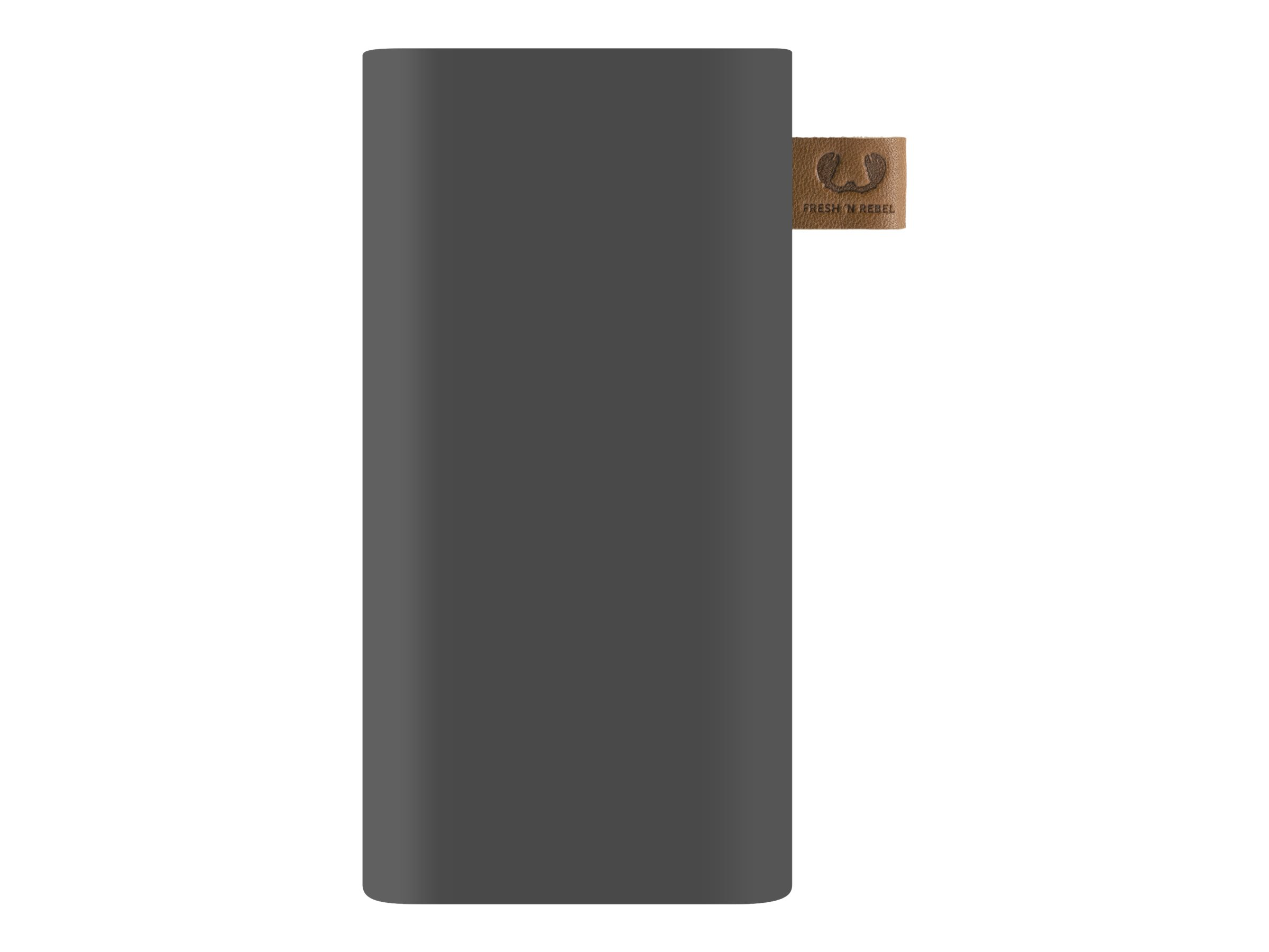 Fresh 'n Rebel Powerbank - Powerbank - 6000 mAh - 2.1 A - 2 Ausgabeanschlussstellen (USB, USB-C) - auf Kabel: USB-C