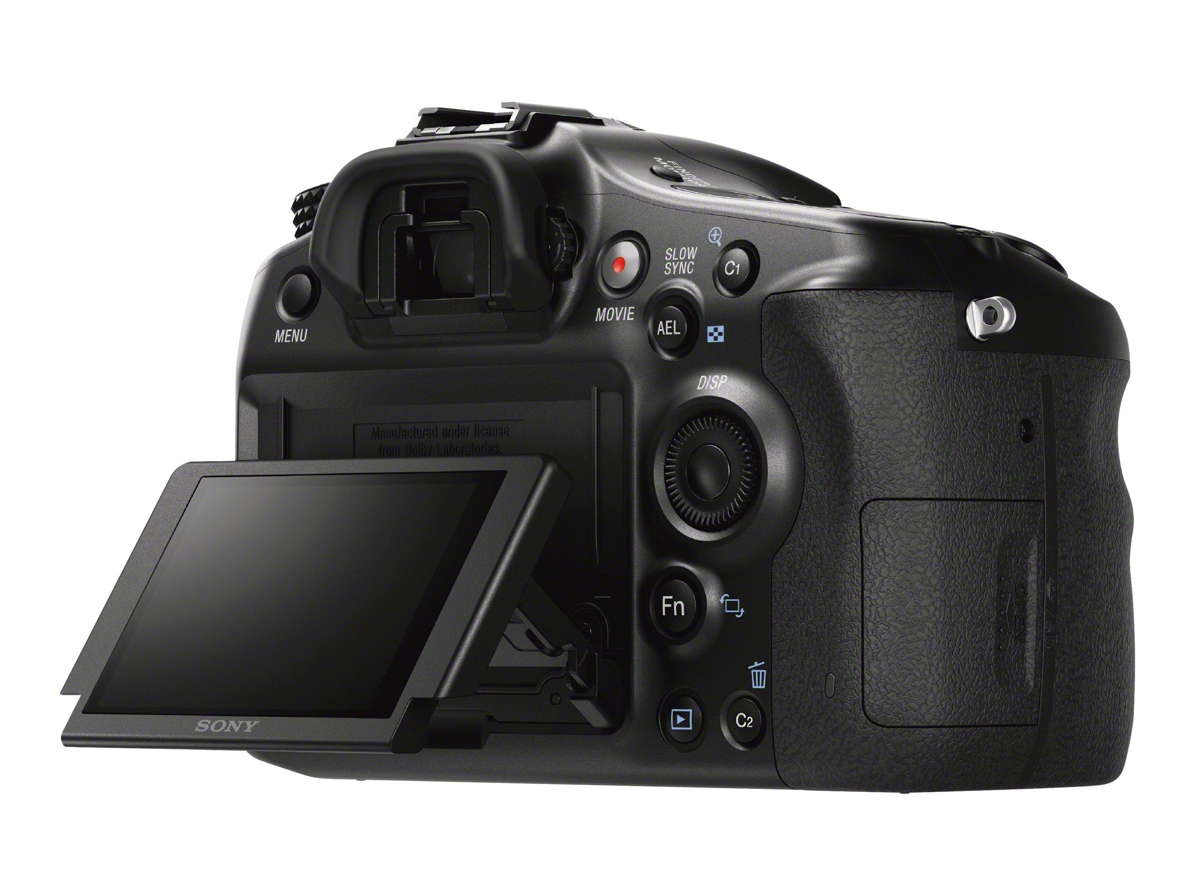 Sony a68 ILCA-68 - Digitalkamera - SLR - 24.0 MPix - APS-C - 1080p / 50 BpS