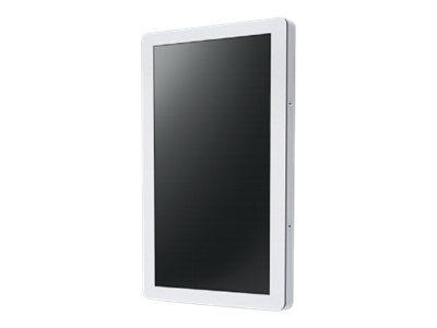 NEC Indoor Cabinet - Schrankeinheit für LCD-Display - Metall, Polycarbonat - weiss - Bildschirmgrösse: 139.7 cm (55