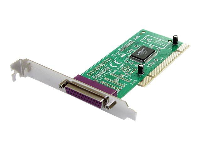 StarTech.com 1 Port Parallel DB-25 PCI Schnittstellenkarte - EEP/ECP - DB25 Adapter Karte - Parallel-Adapter - PCI - IEEE 1284