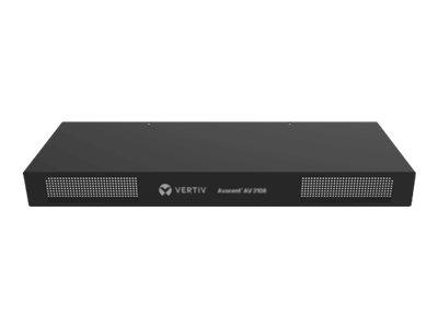 Avocent AutoView AV3216 - KVM-Switch - 16 x KVM port(s) - 2 lokale Benutzer - 1 IP-Benutzer - an Rack montierbar