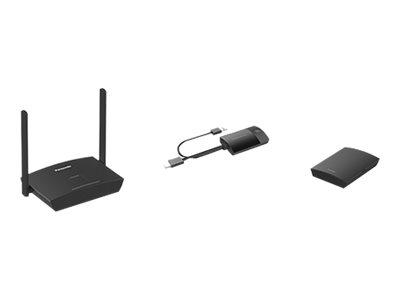 Panasonic PressIT TY-WPS1 WPS Basic Set - Panasonic TY-WPR1 Receiver + 2 Panasonic TY-WPB1 Transmitters - Wireless-Video-Erweite
