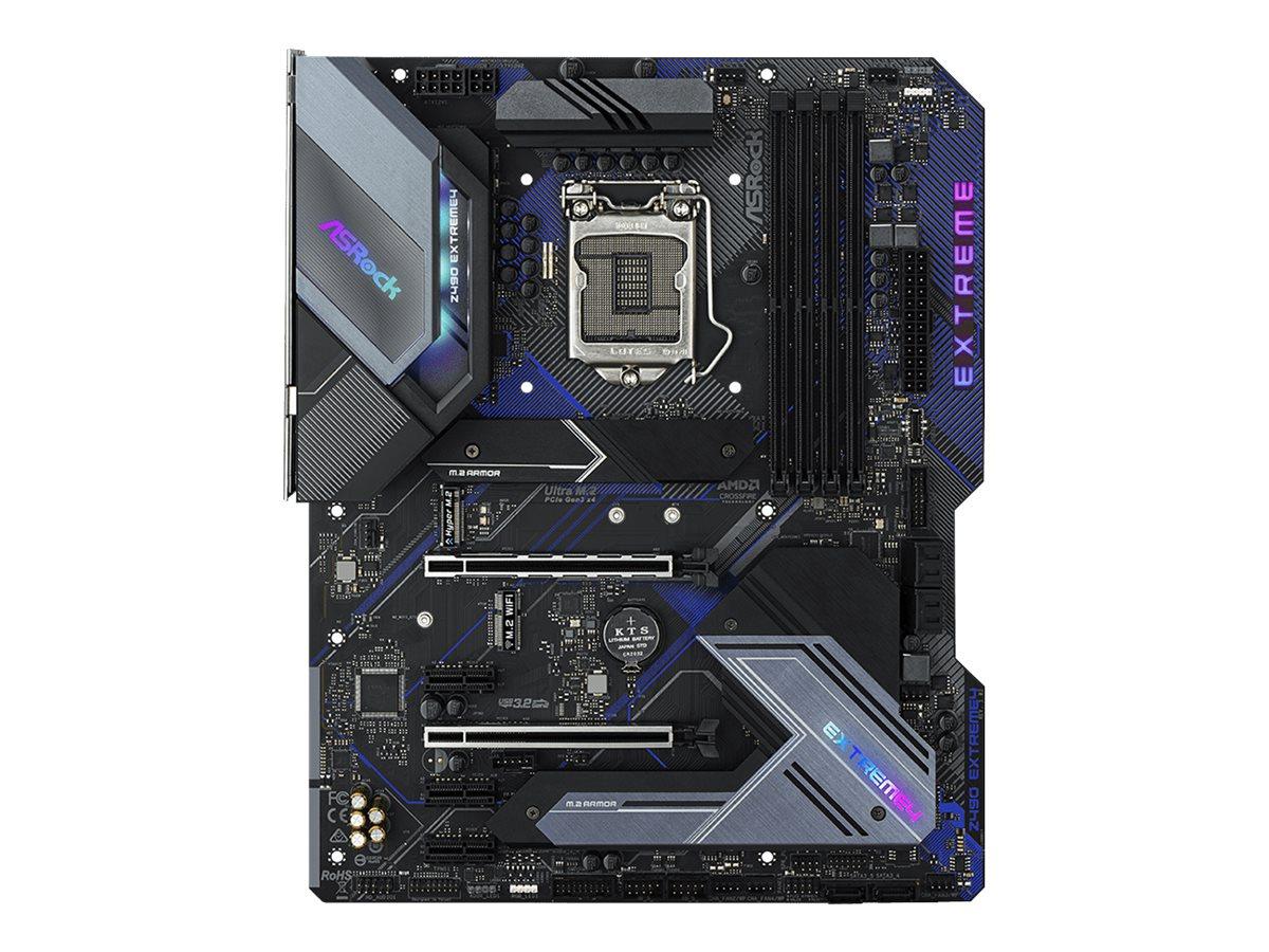 ASRock Z490 Extreme4 - Motherboard - ATX - LGA1200-Sockel - Z490 - USB-C Gen2, USB-C Gen1, USB 3.2 Gen 1, USB 3.2 Gen 2