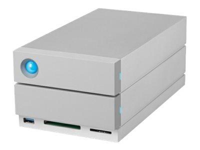 LaCie 2big Dock Thunderbolt 3 - Festplatten-Array - 28 TB - 2 Schächte (SATA-600) - HDD 14 TB x 2 - USB 3.1, Thunderbolt 3 (exte