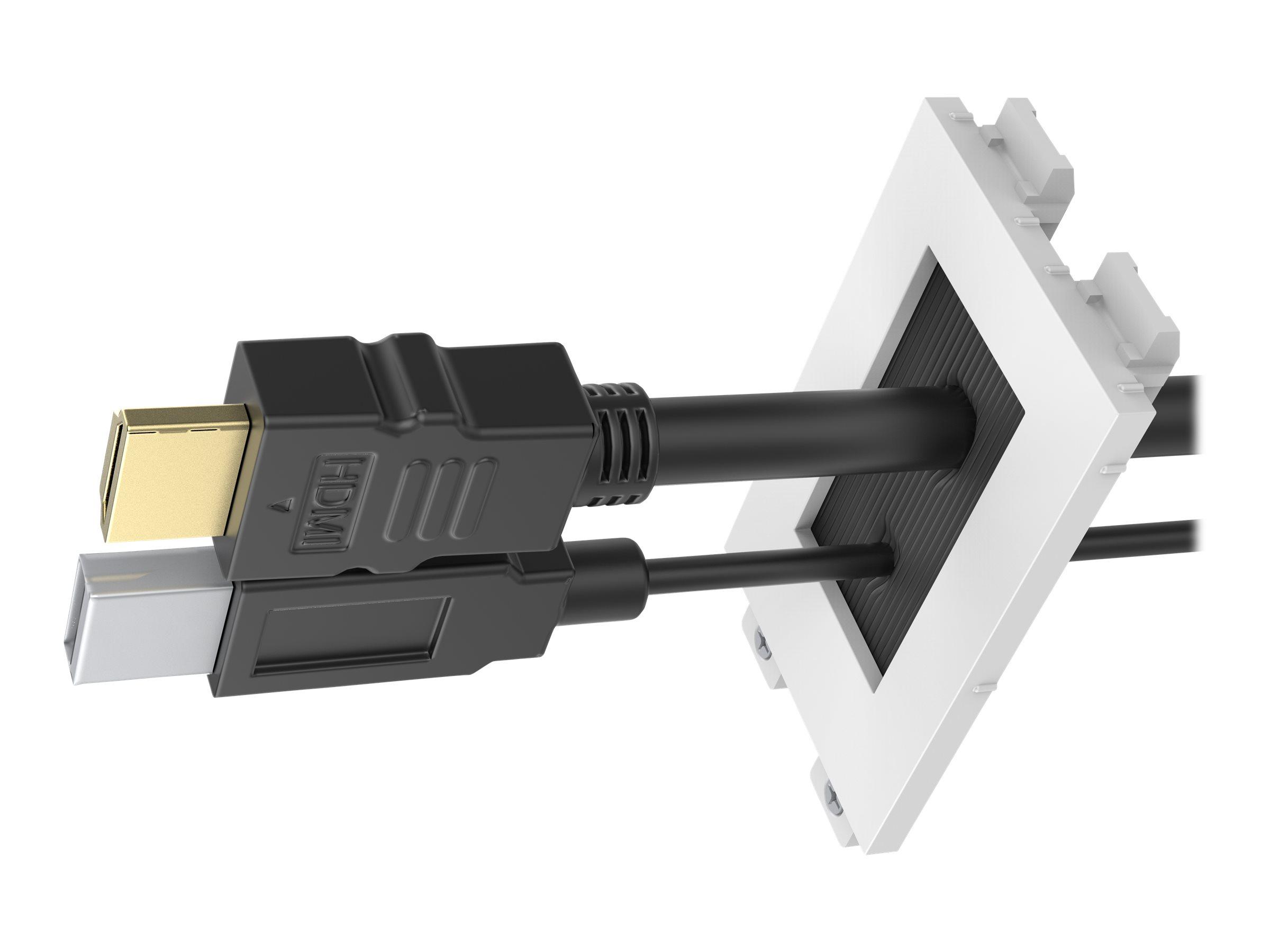VISION TechConnect 3 Brush module - Kabeldurchführungsplatte mit Bürsteneinsatz