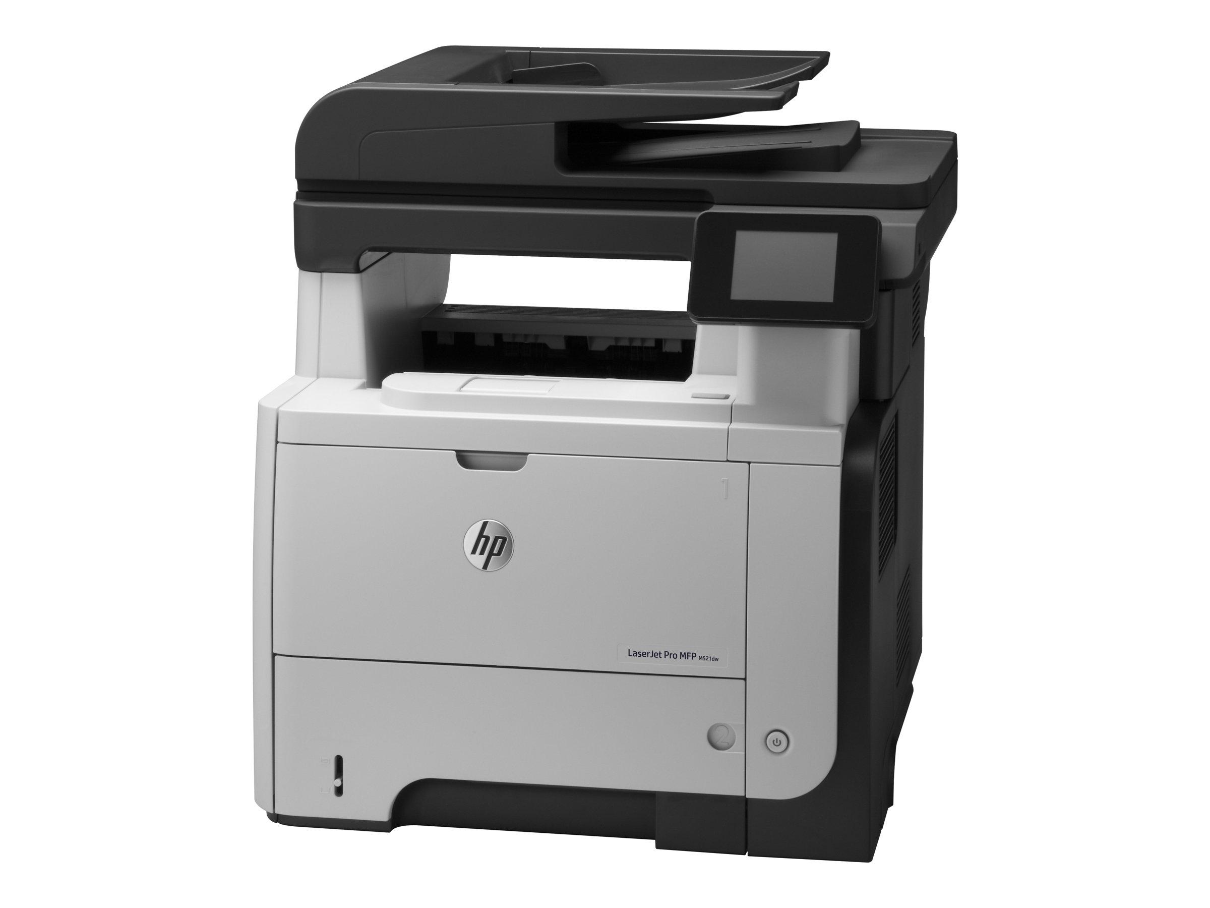 HP LaserJet Pro MFP M521dw - Multifunktionsdrucker - s/w - Laser - Legal (216 x 356 mm) (Original) - A4/Legal (Medien)