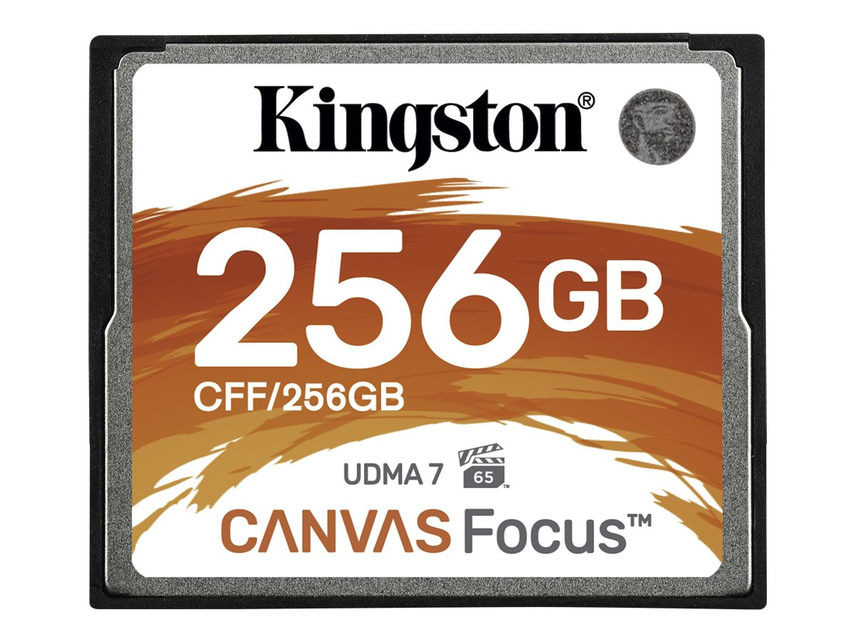 Kingston Canvas Focus - Flash-Speicherkarte - 256 GB - CompactFlash